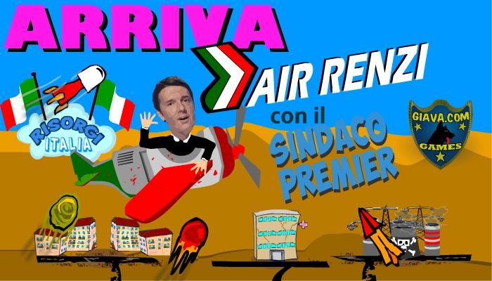 Air Renzi – Il premier vola sull' Italia